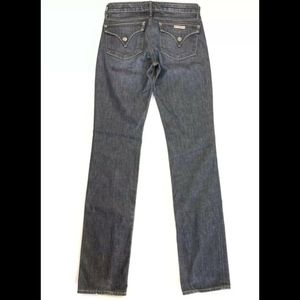 Women's Hudson Carly Flap Straight Jeans size 26